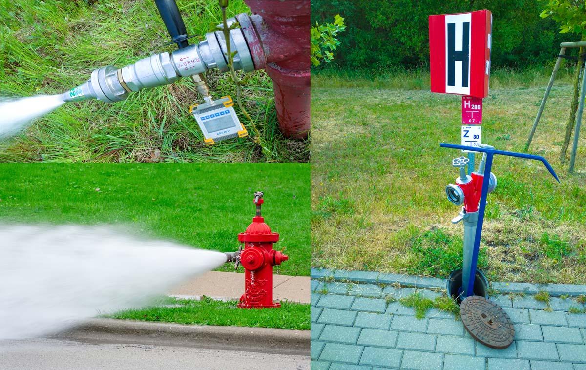 Wydajność hydrantów zewnętrznych