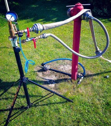 Badanie węży hydrantowych