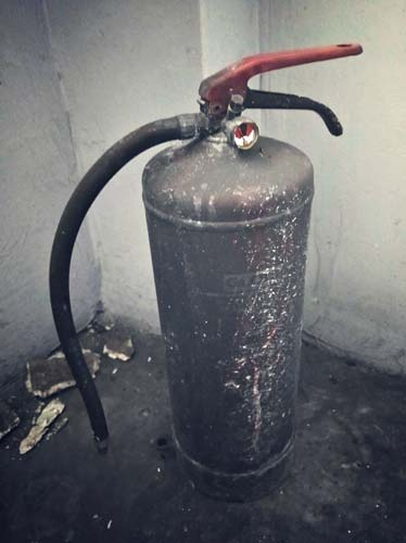 gaśnica pożar