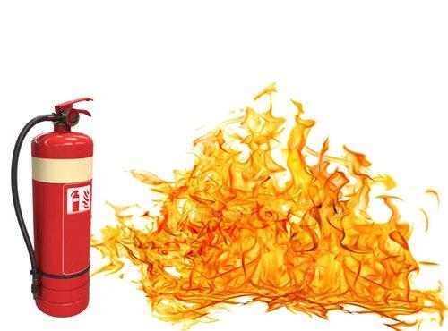 legalizacja gaśnic pożar