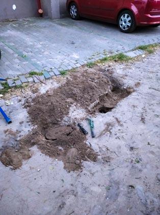 pomiar hydrantu podziemnego